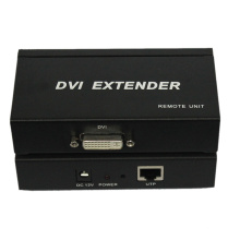 Extensor de 100m 1080P DVI sobre Single Cat5 / 5e / 6