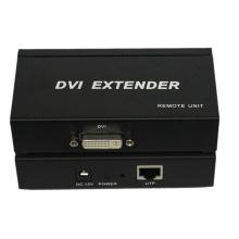 Extensor de 100m 1080P DVI sobre único Cat5 / 5e / 6