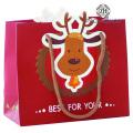 Elk Design Christmas Gift Packaging Box in Stock