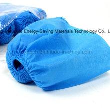 Cubierta antideslizante disponible Kxt-Sc30 del zapato de la prenda impermeable no tejida PP / PE del hospital