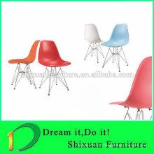 Chaise en métal coloré nouveau style Hot-sale