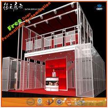 Exhibición de aluminio de encargo de alta calidad de la cartulina de la exposición de 2014