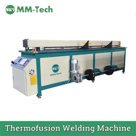 Automatic Plastic Sheet Butt Welding Machine