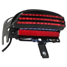 Luz de la cola de moto LED integrado Tri-Bar para 2008-2012 Harley Davidson
