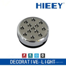 Lampadaire côté LED lampe lampe LED plaque décorative lampe décorative avec objectif transparent et base ABS