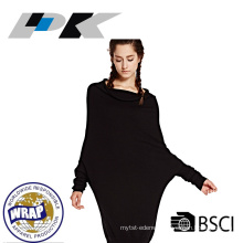 fashion black women cashmere dress