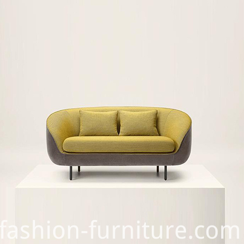 Fabric Two Seater Sofa