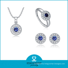 2016 Most Popular 925 Sterling Silver Necklace and Earring (J-0015)
