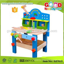 Brand New High Quality Assemble Workbench Toy Boys Wooden Tool Table