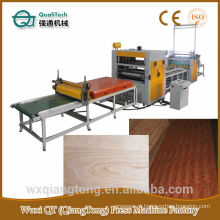 Papel decorativo / HPL / PVC Hot melt Glue Laminating Machine / Glue roller spreader machine