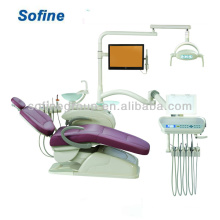 Chair With Luxury Oral Lights CE FDA Top Mounted Dental Unit