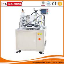 Machine de remplissage et de cachetage de tube d'onguent en plastique rotatoire 5 de fiole