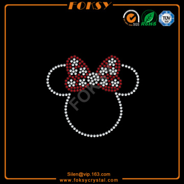 Good Quality for Minnie Mouse Rhinestone Transfer Cartoon Mouse iron on rhinestone custom designs supply to Faroe Islands Manufacturer