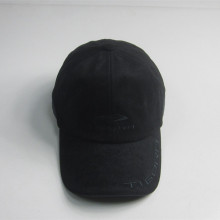 Suede Fabric Peak Embroidery Sport Cap