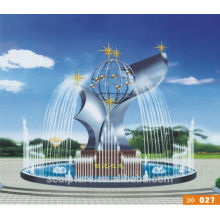Tempelbrunnen Skulptur