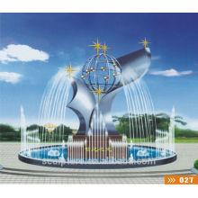Escultura de la fuente del templo