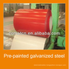 prepaint galvanized steel coils with different colos, good quality and good price, china plant