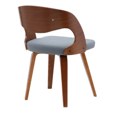 Dining Restaurant Leisure Chair Italian Wood Chairs
