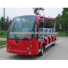 11 Sitzplätze billige elektrische Shuttle Bus Sightseeing Bus Stadtbus Resort Auto für Park