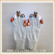 children animal finger gloves
