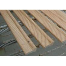 Plinthe à finition pliante en chêne blanc (SK-116)