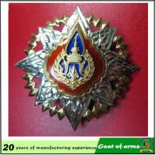 Emblème 3D en métal d'aluminium 50 * 50cm