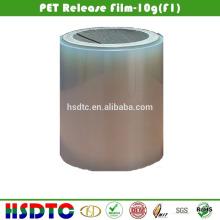 Revestimento de liberação revestida com silicone PET com força de liberação de 120 g