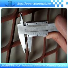 Malla de alambre expandida de acero inoxidable utilizada en la decoración