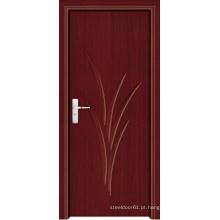 Porta interior do PVC feita em China (LTP-8006)