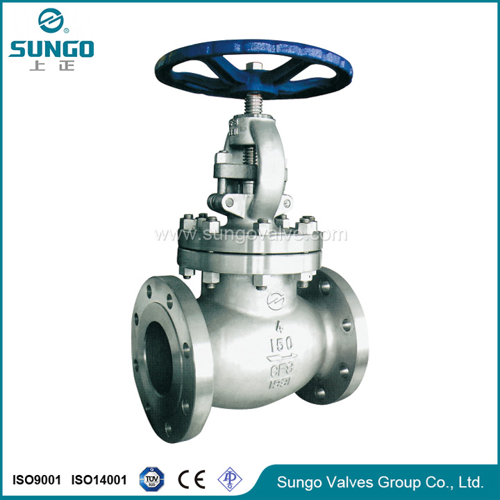 Globe Valve with lock device