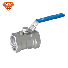 stainless steel 2 pc ball valve