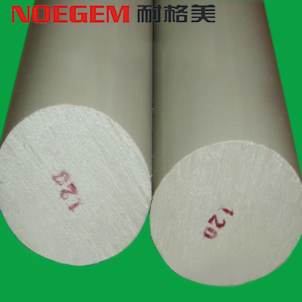 White natural color polypropylene plastic PP rod