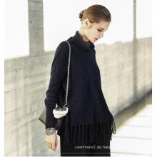 Damen Cashmere-Pullover mit Rundhalsausschnitt 16brdw155-1