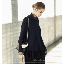 Women′s Cashmere Sweater with Round Neck 16brdw155-1