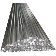 Barra de acero hexagonal 1045