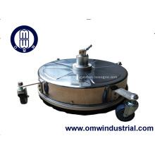 Nettoyeur à surface plate en acier inoxydable de 18 po