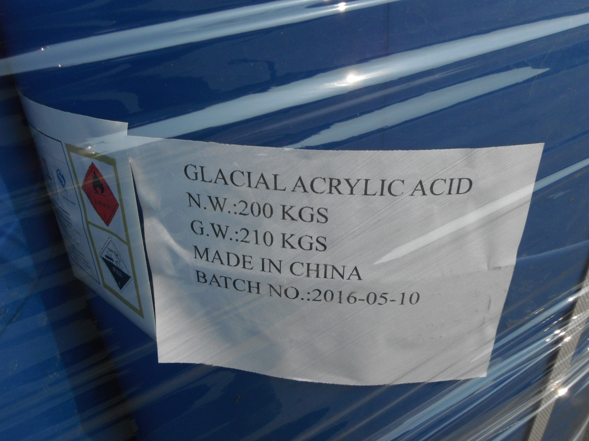 Monomer For Polymer Glacial Acrylic acid