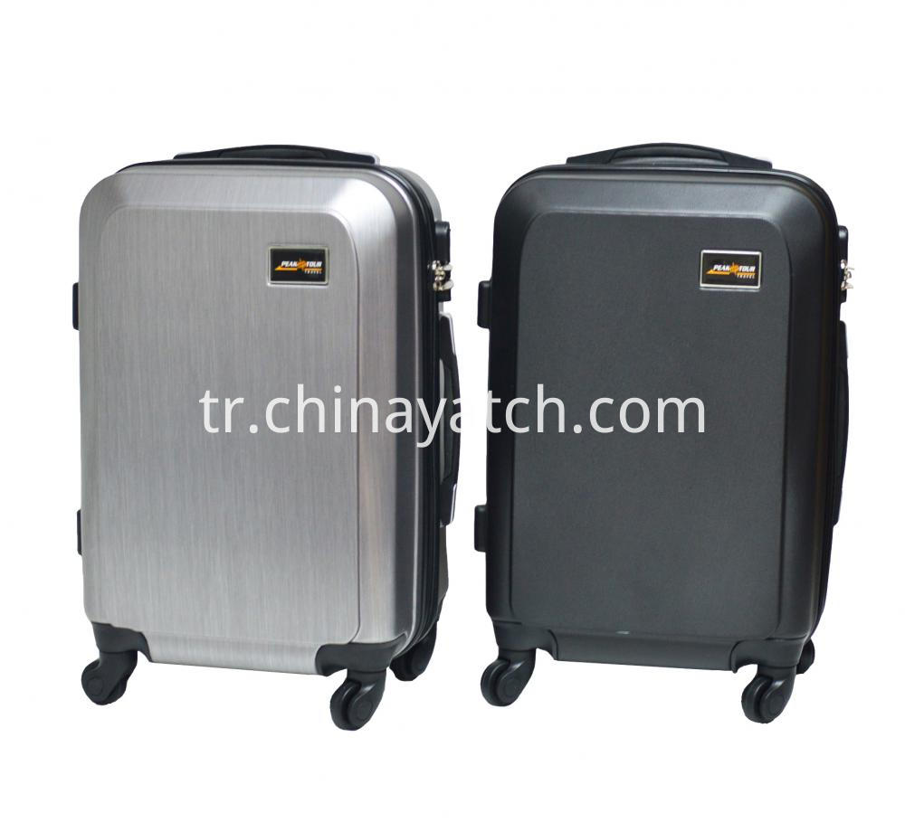 ABS Scratch&Printed Trolley Case