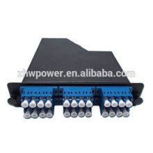 12 24 core distribution box,fiber optic terminal box,optical termination box with mpo patch cord