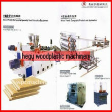 Wood-plastic plate WPC machinery