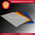 Multicolor exquisite embossing reflective sheeting