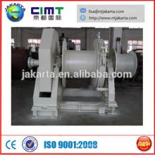electric/hydraulic mooring winch