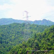 220kV Transmisión de potencia de tensión Ángulo Torre de hierro