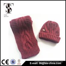 Chapeau mignon en laine de laine de femmes en laine chaude