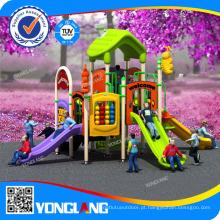 Parque de diversão infantil para interior e exterior, Slide Pleastic