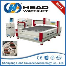 Sistema hidráulico cnc máquinas de corte por chorro de agua para granito