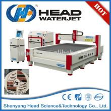 Système hydraulique cnc machines à couper le jet d'eau pour le granit