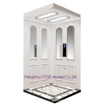 Diseño de la cabina del elevador de la seguridad que funciona casero de OTSE