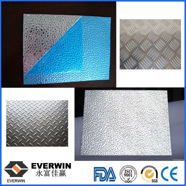 Aluminum Chequered Plate with Paper Interleaved
