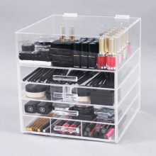 Acryl Make-up Organizer met laden
